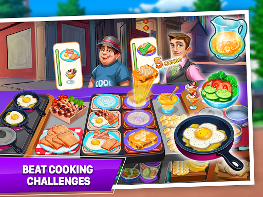 Cooking Crush - Madness Crazy Chef Cooking Games