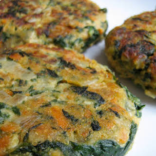 Spinach Burgers Vegetarian Recipes.