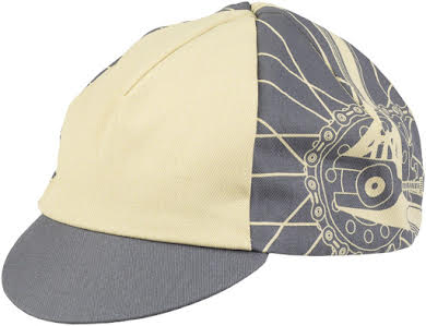 All-City Damn Fine Cycling Cap - Gray, Khaki, One Size alternate image 3