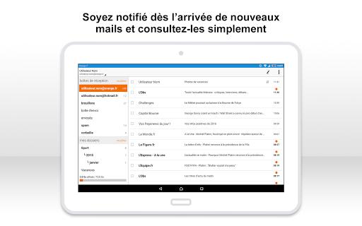 Mail Orange, 1er mail français screenshot 9