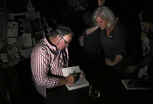 There was a power outage at Exclusive Books at Hyde Park Shopping Centre, and other areas,   during the launch of Jacques Pauw's book 'The President's Keepers.