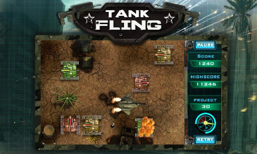 Tank Fling Game 1.1 screenshots 2