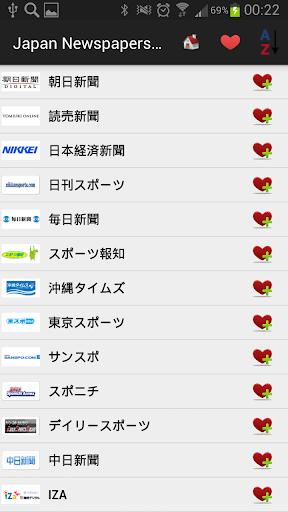 日本报纸和新闻