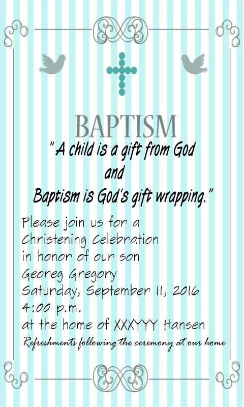 Baptism invitation maker android apps on google play baptism invitation maker screenshot stopboris Choice Image