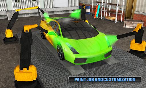 Smart Car Wash Service: Gas Station Car Paint Shop android2mod screenshots 2