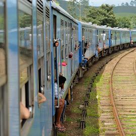 Train by Tomasz Budziak - Transportation Trains ( asia, train, transportation,  )