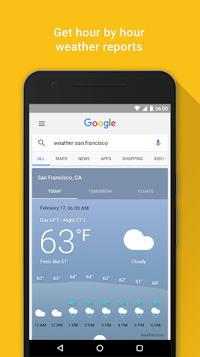 Screenshot 2 for Google's Android app'