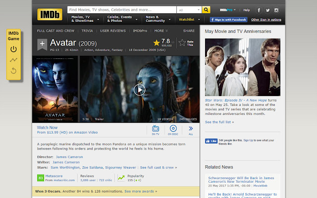 IMDb Game