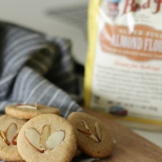 Almond Maple Cookies.