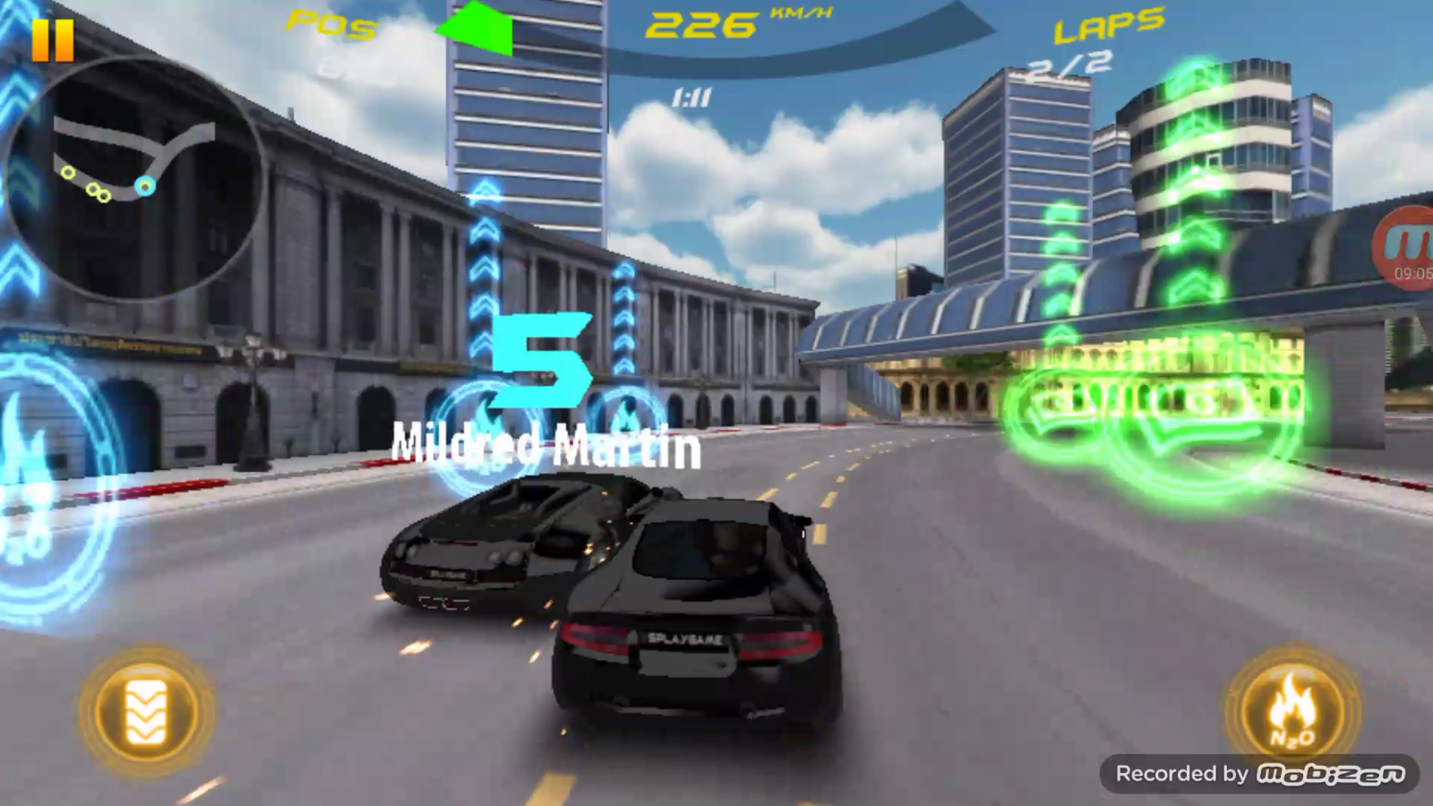 Car Racing 3D - War For Speed- screenshot