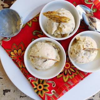 Fennel Pollen-Caraway Ice Cream.
