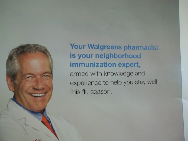 Photo: Ah, the flu. I still have never personally had a flu shot, but when it gets closer to flu season, at least I know it's available if I or anyone else in the family decides to.