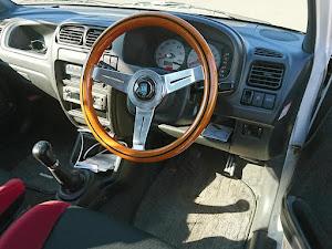 アルトワークス HA22S 前期型 5MT 4WDのステアリングのカスタム事例画像 ゆーたさんの2018年11月25日10:12の投稿