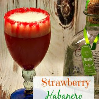 Strawberry Habanero Margarita