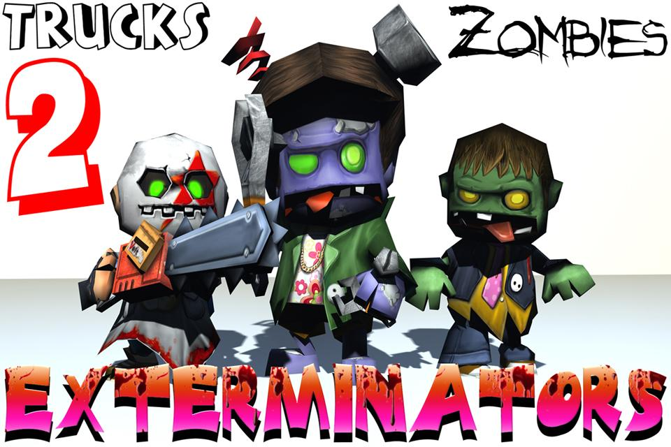 Trucks: Zombie Exterminators 2- screenshot
