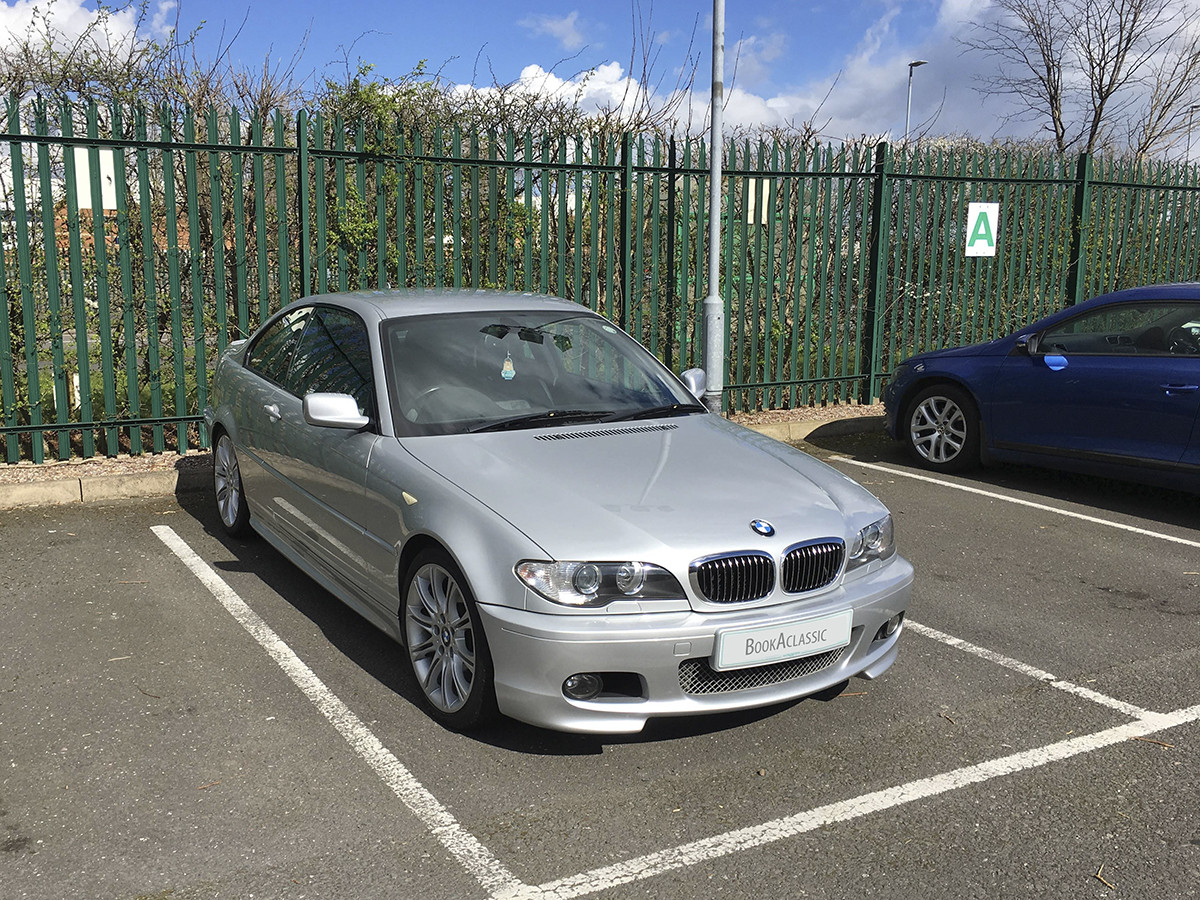 BMW 330cd Hire Leicester