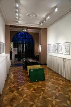 Photo: Sala de exposiciones de Champaka, la editorial de BD.