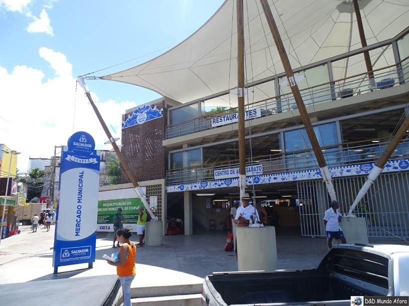O que fazer em Salvador (Bahia) - Mercado Municipal de Itapuã