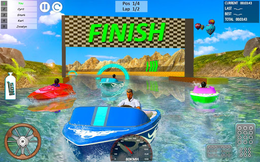 Xtreme Boat Racing 2019: Speed Jet Ski Stunt Games 2.0.1 screenshots 1