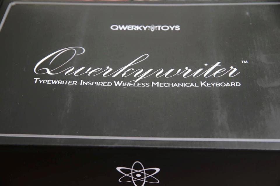 bàn phím cơ QWERKYWRITER