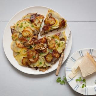 Potato Mushroom Pancake