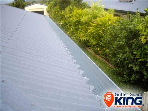 Gutter guard corro roof hobart