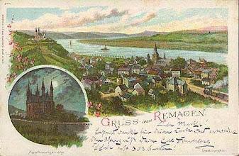 Photo: Gruss aus Remagen - Postkarte von 1902