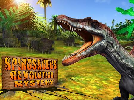Spinosaurus Revolution Mystery 1.1 screenshot 1652519