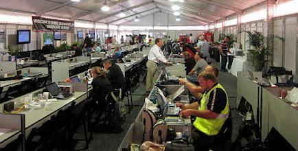 Photo: Media center at Barber Motorsports Park, Montgomery AL. Sweet