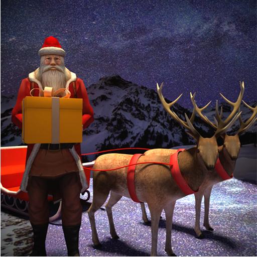 Baixar Happy Santa Claus - Christmas Gift Delivery Sim