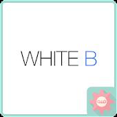 ColorfulTalk - White B 카카오톡 테마