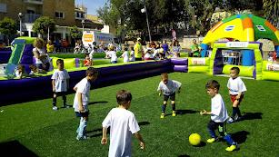 La fiesta del fútbol base.