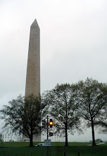 Photo: The Washington Memorial on a damp and overcast April 20, 2009.