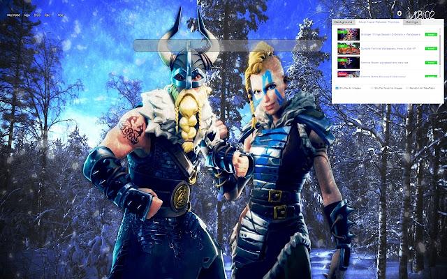 Magnus Fortnite HD Wallpapers New Tab