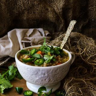 Vegetable Mushroom Barley Soup Recipe