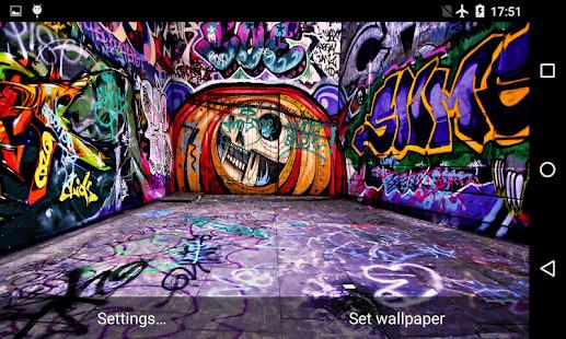 Graffiti 3D Live Wallpaper