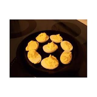 Cheesy Stuffed Eggs