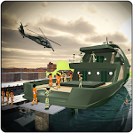 Stickman Army Criminal Transport Ship Simulator
