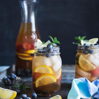 Blueberry Sweet Tea Lemonade Sangria.