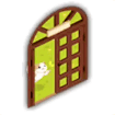 ネコカフェのドア