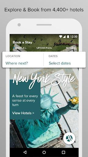 Marriott International Screenshot