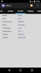 CPU-Z Premium 1.33 Mod Apk Download 4