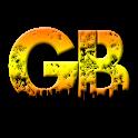 Golden book icon