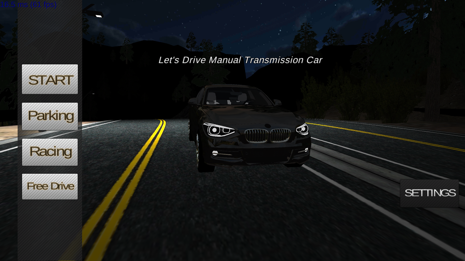 Manual Car Driving- screenshot