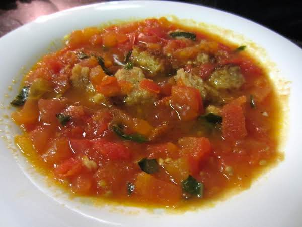 Escalloped Tomatoes With Croutons Recipe