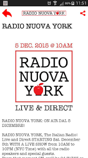 Radio Nuova York- screenshot thumbnail