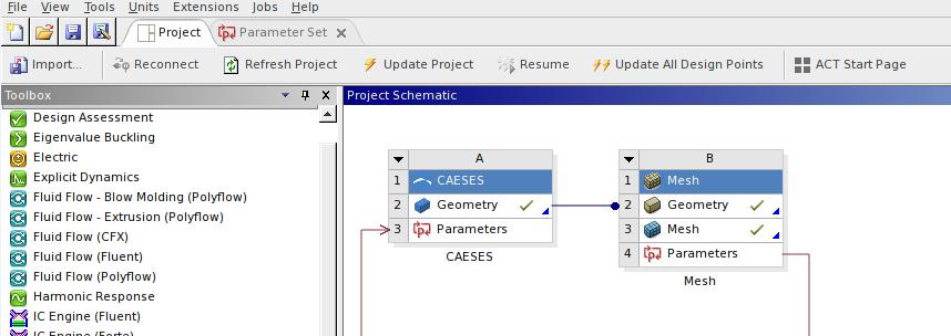 Перед началом работы в ANSYS Workbench необходимо установить ACT-расширение