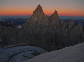 Photo: Evening view of Fitz Roy