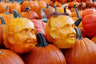 Photo: Pumpkin heads