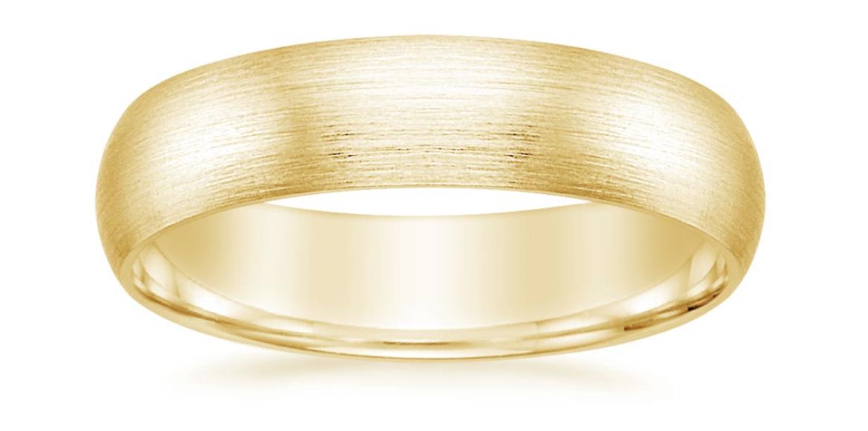 gold matte band